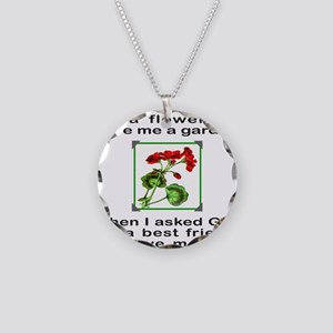 GOD GAVE ME YOU Necklace Circle Charm