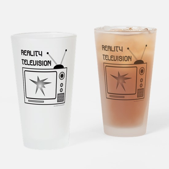 REALITY TV Drinking Glass