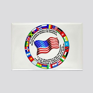 Circle of Flags and Pledge of Allegiance Rectangle
