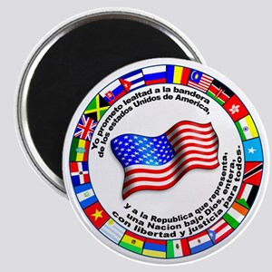 Circle of Flags and Pledge of Allegiance Magnet