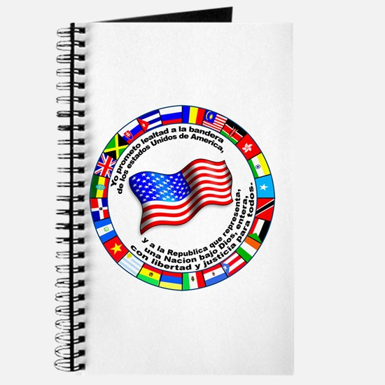 Circle of Flags and Pledge of Allegiance Journal