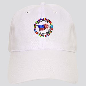 Circle of Flags and Pledge of Allegiance Cap