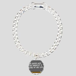 SCHOOL DUNCE Charm Bracelet, One Charm