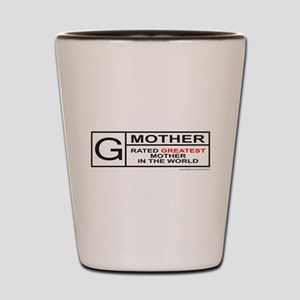 GREATEST MOTHER Shot Glass