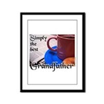 GRANDFATHER Framed Panel Print