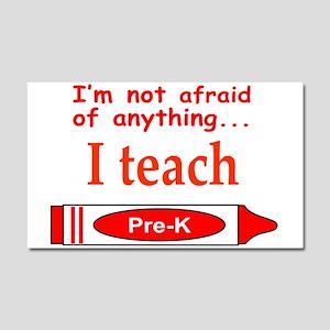 TEACH PRE-K Car Magnet 20 x 12