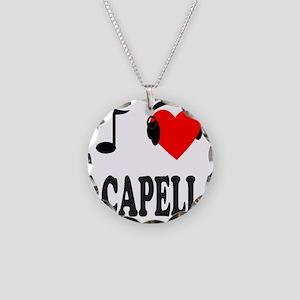 ACAPPELLA Necklace Circle Charm