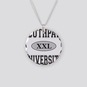 SOUTHPAW UNIVERSITY Necklace Circle Charm