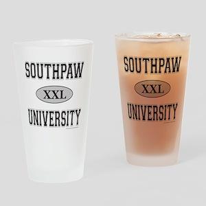 SOUTHPAW UNIVERSITY Drinking Glass