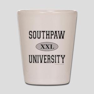 SOUTHPAW UNIVERSITY Shot Glass
