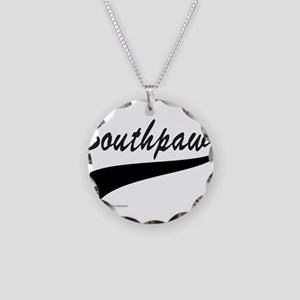 SOUTHPAW Necklace Circle Charm