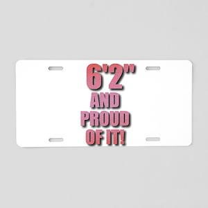 6 foot 2 Aluminum License Plate