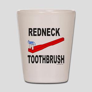REDNECK TOOTHBRUSH Shot Glass