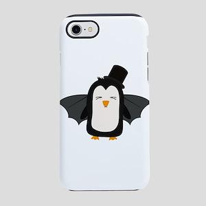 Penguin Vampire with Hat Cszqb iPhone 7 Tough Case