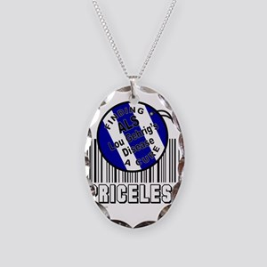 LOU GEHRIG'S DISEASE Necklace Oval Charm