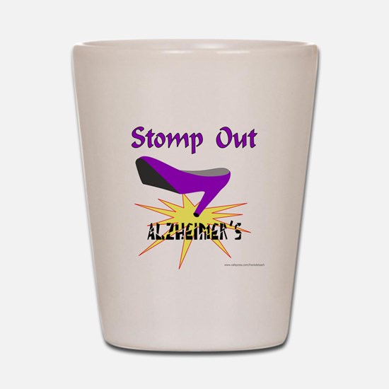ALZHIEMER'S Shot Glass