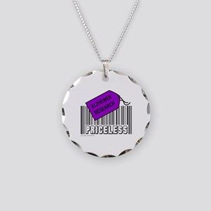 ALZHEIMER CAUSE Necklace Circle Charm