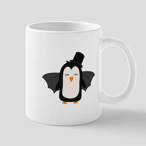 Penguin Vampire with Hat Cszqb Mugs