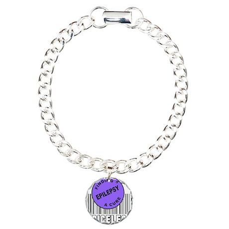 EPILEPSY FINDING A CURE Charm Bracelet, One Charm