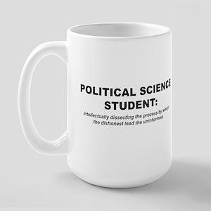 Poly Sci Student 1 Large Mug