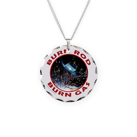 WELDER/WELDING Necklace Circle Charm