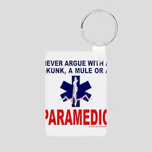 PARAMEDIC/EMT Aluminum Photo Keychain