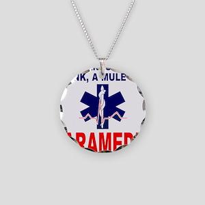 PARAMEDIC/EMT Necklace Circle Charm