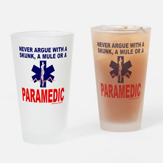 PARAMEDIC/EMT Drinking Glass
