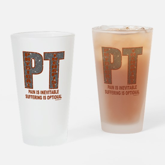 PHYSICAL THERAPIST Drinking Glass