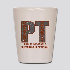 PHYSICAL THERAPIST Shot Glass