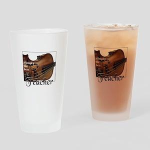 BEST TEACHER Drinking Glass