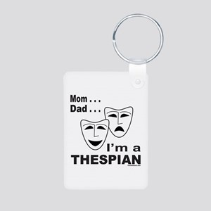 ACTOR/ACTRESS/THESPIAN Aluminum Photo Keychain