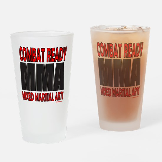 COMBAT READY MMA Drinking Glass