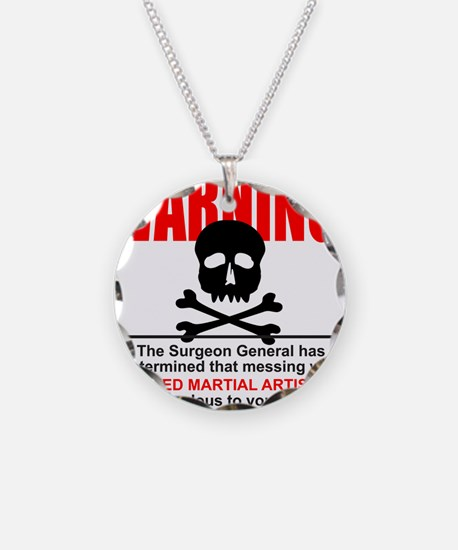 WARNING MMA Necklace