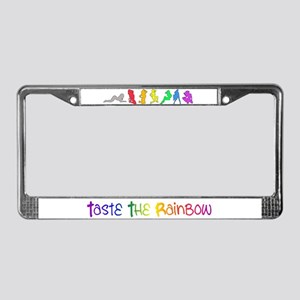 Rainbow Girls License Plate Frame