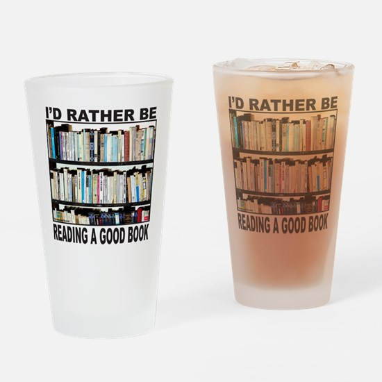 BOOK LOVER Drinking Glass
