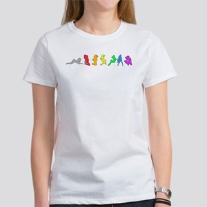 Rainbow Girls Women's T-Shirt