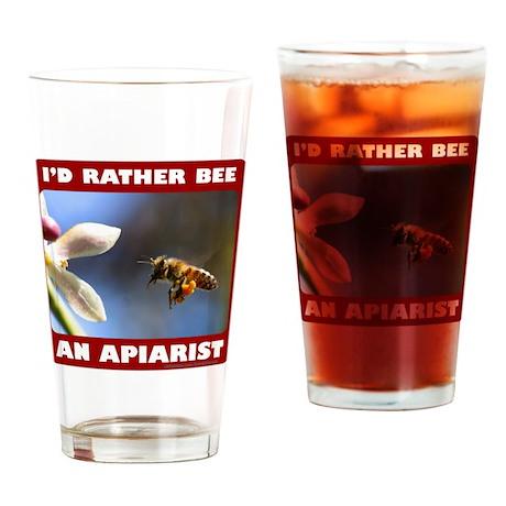 BEEKEEPER/APIARIST Drinking Glass