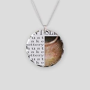 POTTER/POTTERY Necklace Circle Charm