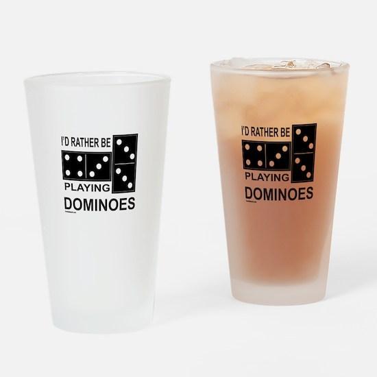 DOMINO Drinking Glass