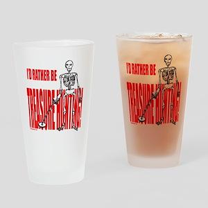 TREASURE HUNTING Drinking Glass