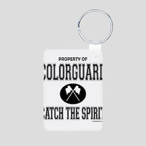 COLORGUARD SPIRIT Aluminum Photo Keychain