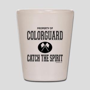 COLORGUARD SPIRIT Shot Glass