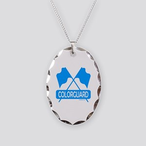 COLORGUARD Necklace Oval Charm