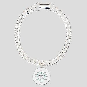 BORN TO SAIL Charm Bracelet, One Charm