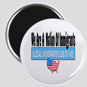 Nation Of Immigrants Magnet