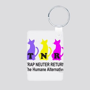 TRAP NEUTER RETURN Aluminum Photo Keychain