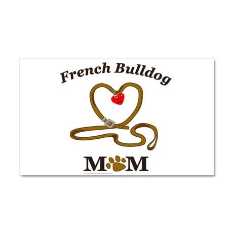 FRENCH BULLDOG Car Magnet 20 x 12