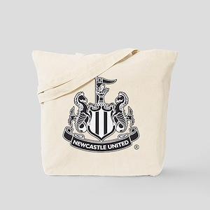 Newscastle United FC Crest Black Tote Bag