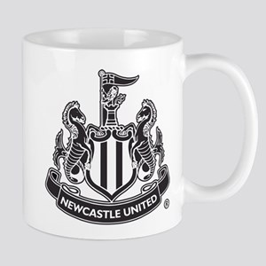 Newscastle United FC Crest Black Mugs